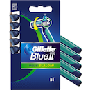 Gillette 5kpl BlueII Plus S terä