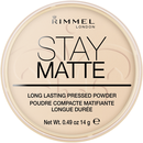 Rimmel 14g Sta M Pressed Powder 001