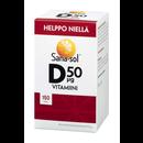 Sana-sol 150tabl D50µg vitamiini