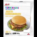 Juustokerrosburgeri 180g
