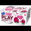Play jogurtti 4x125g vadelma lton
