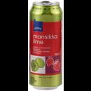 Rainbow 0,5L Mansikka-Lime siideri 4,7% tlk