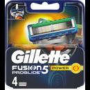 Gillette 4kpl Fusion5 PG Power terä