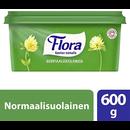 Flora 600g normaalisuolainen margar