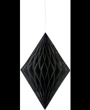 Timantti roikkuva koriste, musta