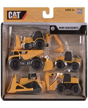 CAT Mini Työkoneet 8 cm 5 kpl