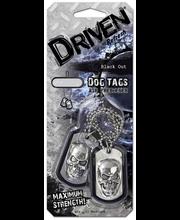 Driven Dog Tags auton ilmanraikastin
