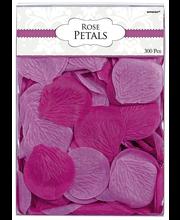 Ruusunterälehdet pinkin sävyt 300 KPL