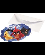 Angry Birds kutsukortit 8 kpl/pkt