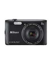 Nikon Coolpix A300 Musta
