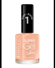 Rimmel 12ml Super Gel Nail Polish 011 Bare Yourself by Kate kynsilakka