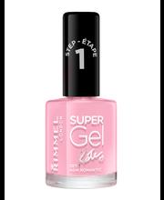 Rimmel 12ml Super Gel Nail Polish 021 New Romantic by Kate kynsilakka