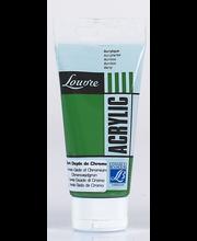 Louvre akryyliväri 80ml chr oxide green