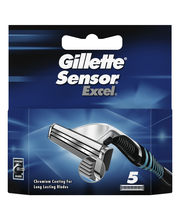 Gillette Sensor Excel terä 5-kpl
