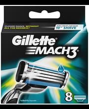 Gillette Mach3 terä 8-kpl