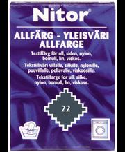 Nitor 15g teräksenharmaa 22 yleisväri