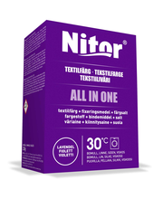 Nitor Tekstiiliväri All in one 230g violetti