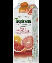 Tropicana 1l ruby breakfast 3 hedelmän täysmehu