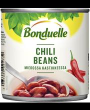 Bonduelle 430g chili beans kidneypapuja miedossa kastikkeessa
