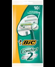 Bic 10kpl Comfort 2 varsiterä
