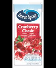 Ocean Spray 1l Cranberry Classic Karpalomehujuoma