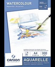 Akvarellilehtiö Canson A4/10, 300g