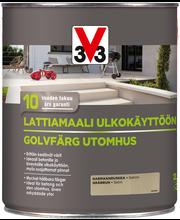 V33 Lattiamaali betonille 2,5l harmaanruskea