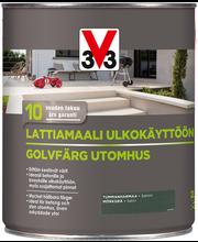 V33 Lattiamaali betonille 2,5l tummanharmaa
