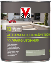 V33 Lattiamaali betonille 2,5l harmaa
