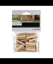 Bosch puutappi 8 mm 40 kpl