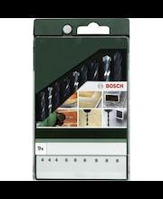 Bosch poranteräsarja 9-os. metalli/betoni/puu