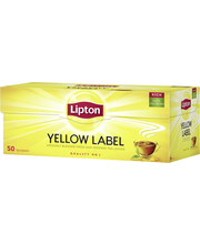 Lipton 50ps Yellow Label musta tee