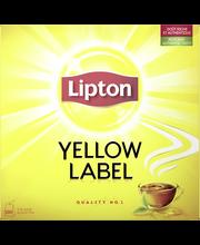 Lipton 200g Yellow Label musta tee 100ps