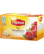 Lipton 20ps Raspberry musta tee
