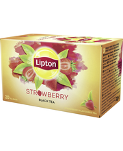 Lipton 20ps Strawberry musta tee