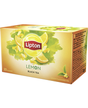 Lipton 20ps Lemon musta tee