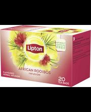 Lipton 20pss African Rooibos maustearomilla maustettu yrttitee pussitee