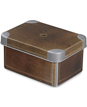 Curver Deco Box Stockholm säilytyslaatikko S nahka