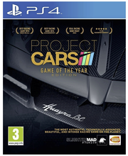 PS4 Project Cars Game of the Year