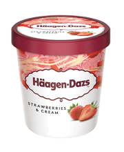 Häegen-Dazs 500ml Strawberries&Cream