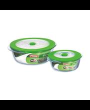 Pyrex 4in1 PLUS -uunivuoka muovikannella 1,0 l