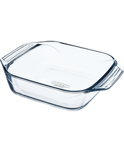 Pyrex Optimum neliskulmainen lasivuoka