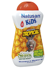 Natusan Kids 300ml Tropical Shampoo & Shower Gel suihkugeeli