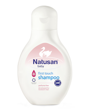 Natusan Baby 250ml First Touch shampoo hajustamaton