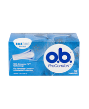 O.B. ProComfort 32 kpl Normal tamponi