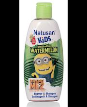 Natusan Kids 200ml Tropical Shower & Shampoo suihkugeeli