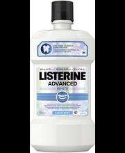 Listerine Advanced White 500ml suuvesi