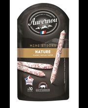 Auvernou 100g Mini Sticks Nature possunlihatikut maustamaton