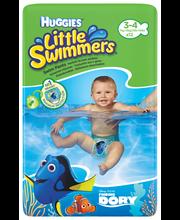 Huggies 12kpl Little swimmers 3/4 7-15kg uimavaippa