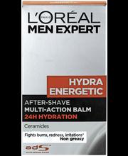 L'Oréal Paris Men Expert 100ml Hydra Energetic 24h kosteuttava after shave balsami